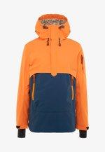 CLAYTON - Ski jacket - dark orange