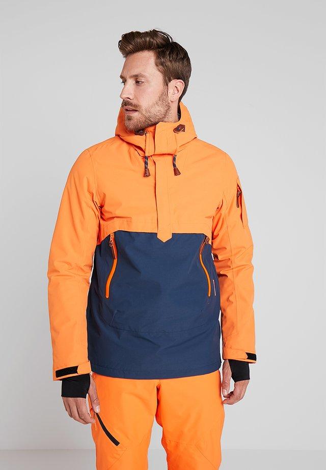 CLAYTON - Lyžařská bunda - dark orange