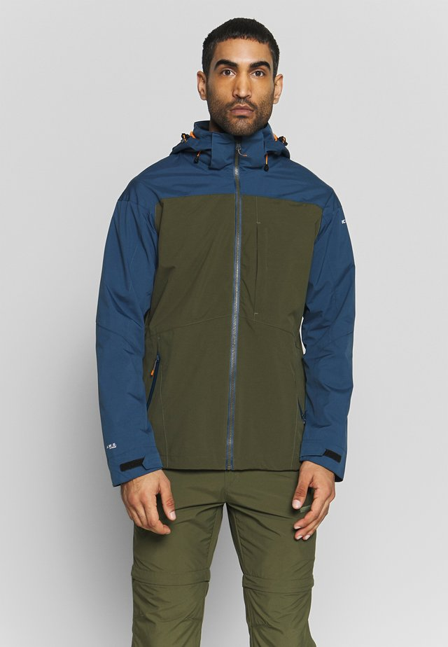 BANTRY - Waterproof jacket - dark olive