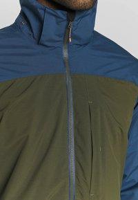 Icepeak - BANTRY - Regnjakke / vandafvisende jakker - dark olive - 5