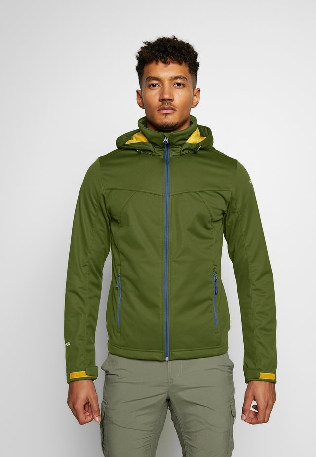 BIGGS - Softshell jakker - dark olive