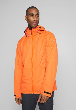 BARI - Regnjakke / vandafvisende jakker - burned orange
