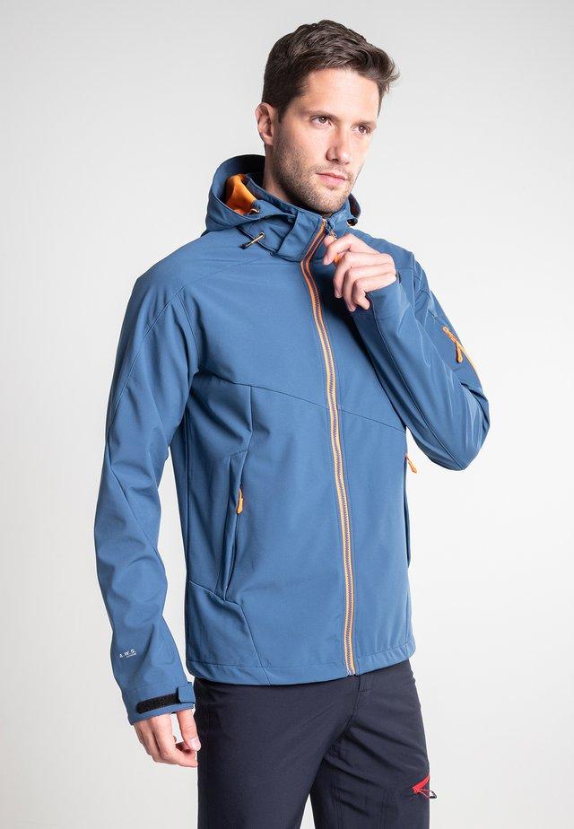 BARLING - Soft shell jacket - blue