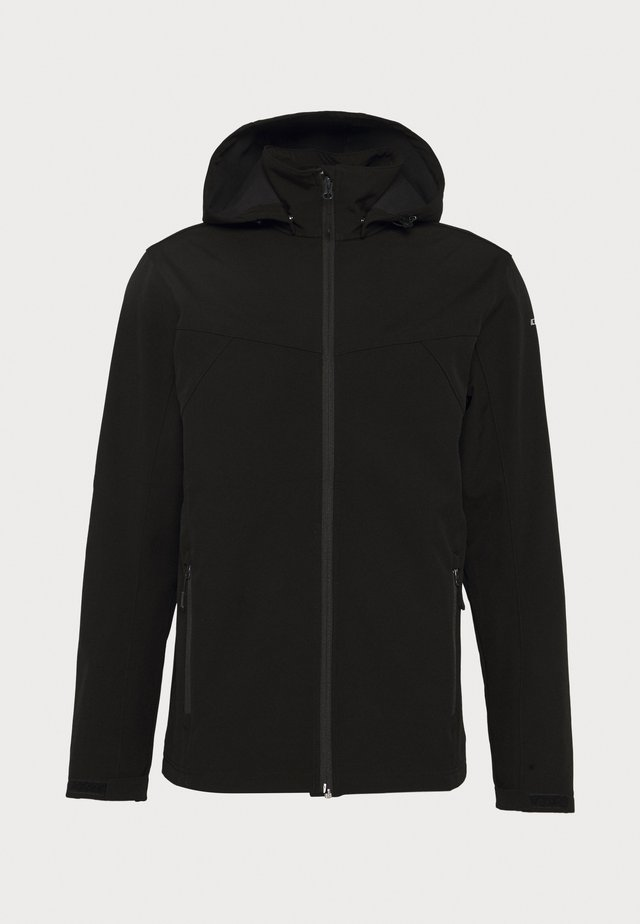 BIGGS - Softshelljacke - black