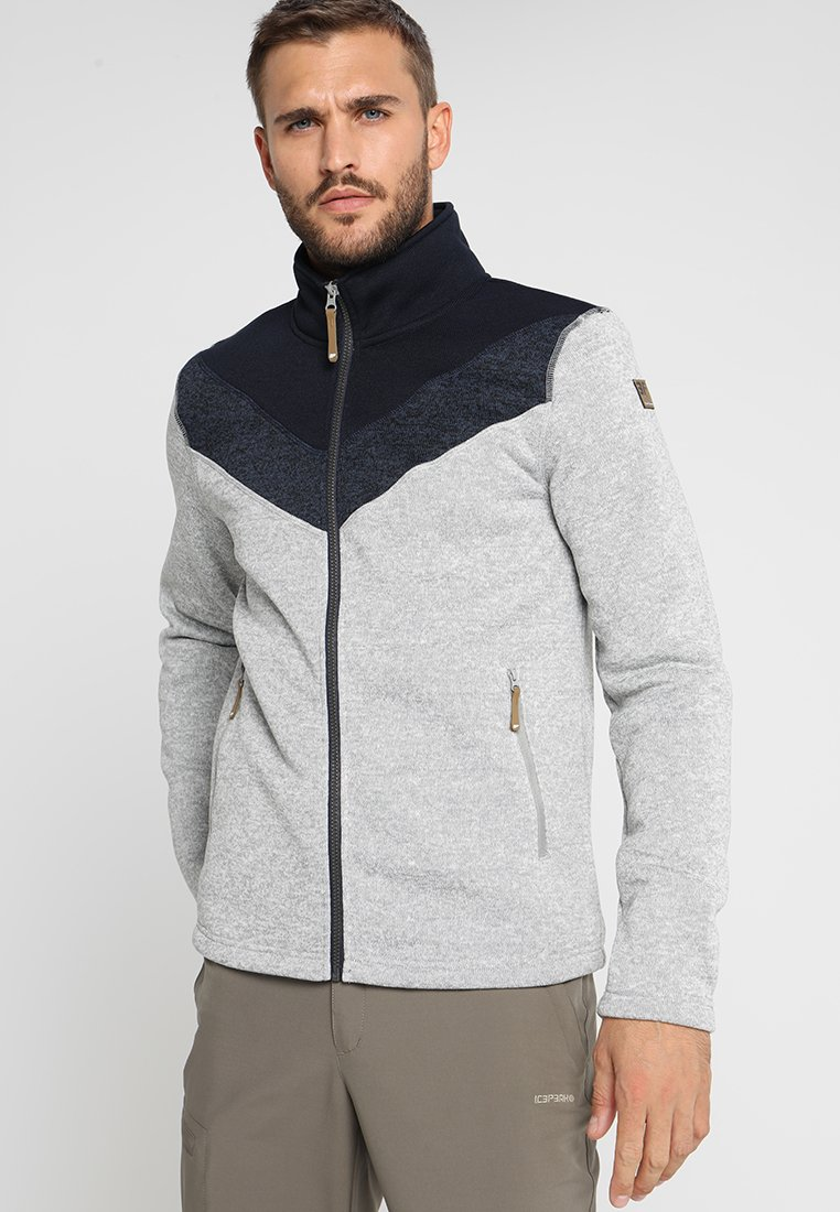 Icepeak - LEW - Fleece jacket - hell grau