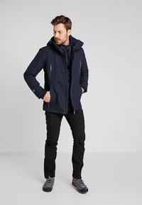 Icepeak - BRAYTON - Fleece jumper - navy blue - 1