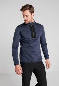 Icepeak - BRAYTON - Fleece jumper - navy blue - 0