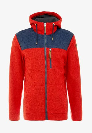 ATHOL - Fleece jacket - coral red