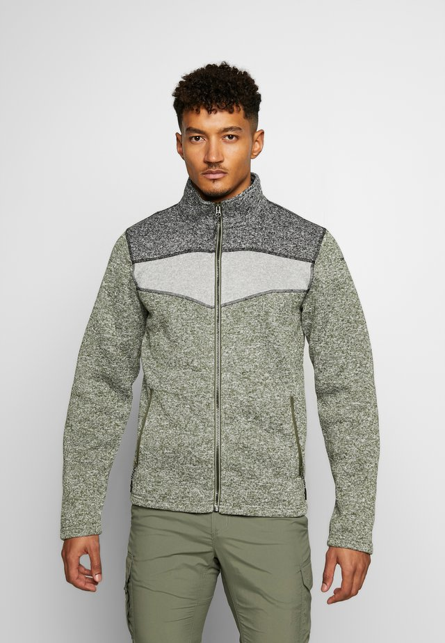 PINOLE - Fleece jacket - dark olive