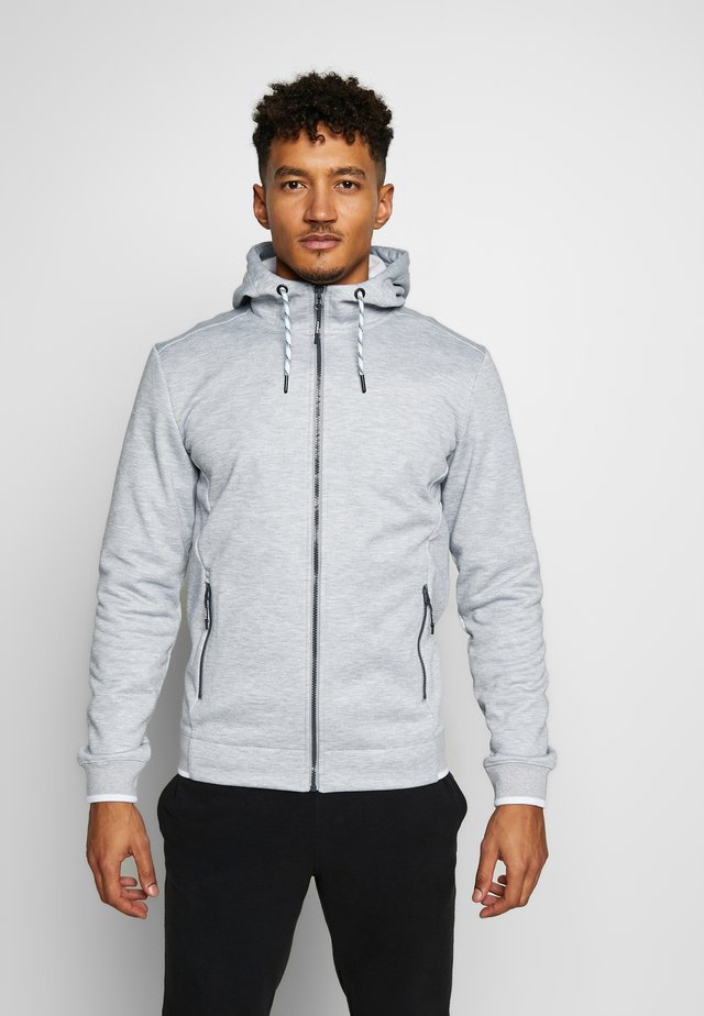 CLANTON - Sweatjacke - light grey