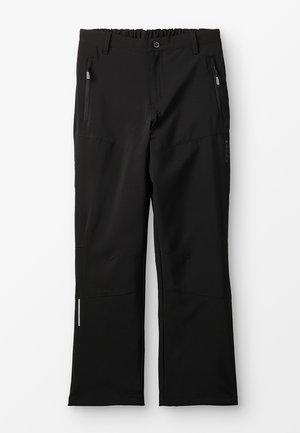 THEON  - Stoffhose - schwarz