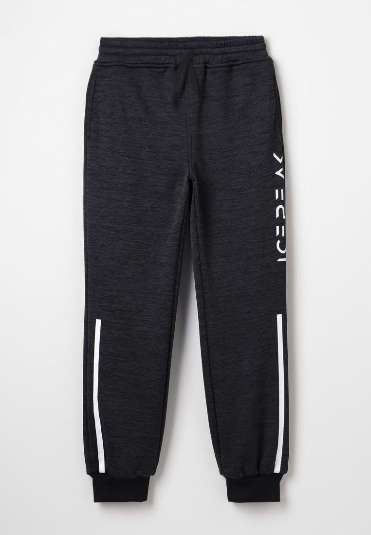 Icepeak - TERRY - Pantalones deportivos - schwarz melange