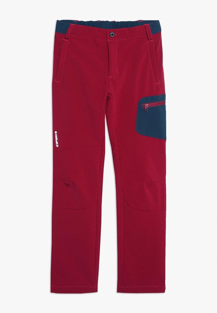 Icepeak - KILDEER  - Outdoor trousers - burgundy
