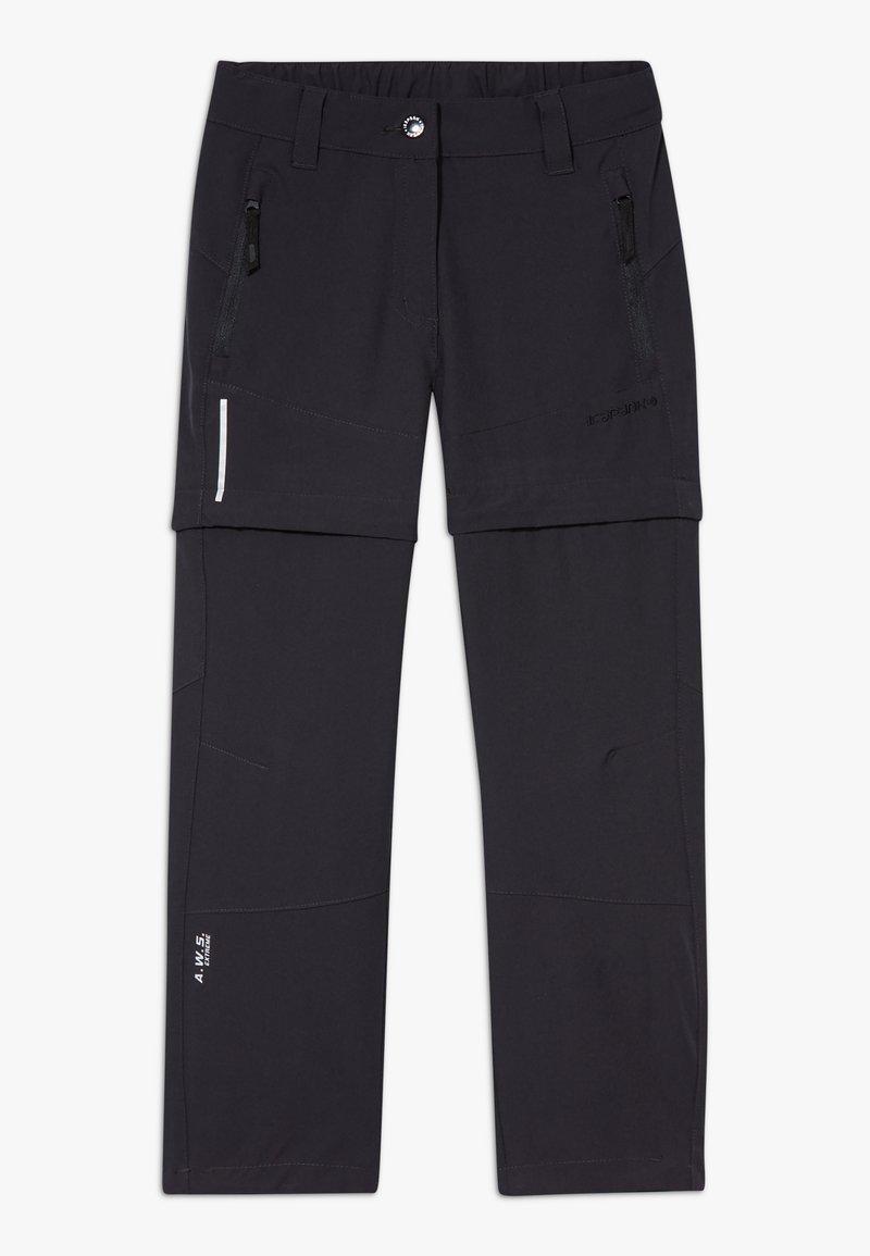 Icepeak - KANO 2-IN-1 - Długie spodnie trekkingowe - anthracite