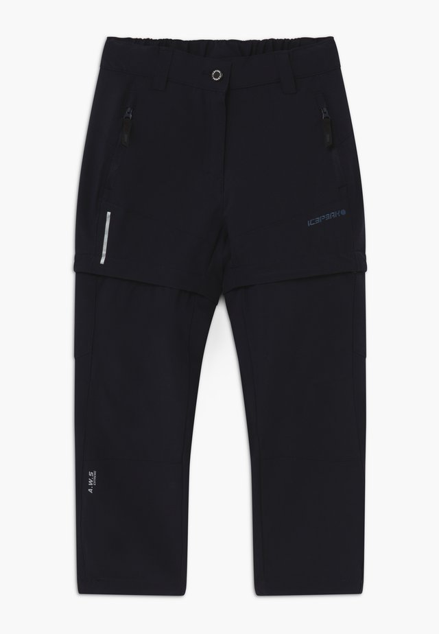 KANO 2-IN-1 - Outdoor trousers - blue