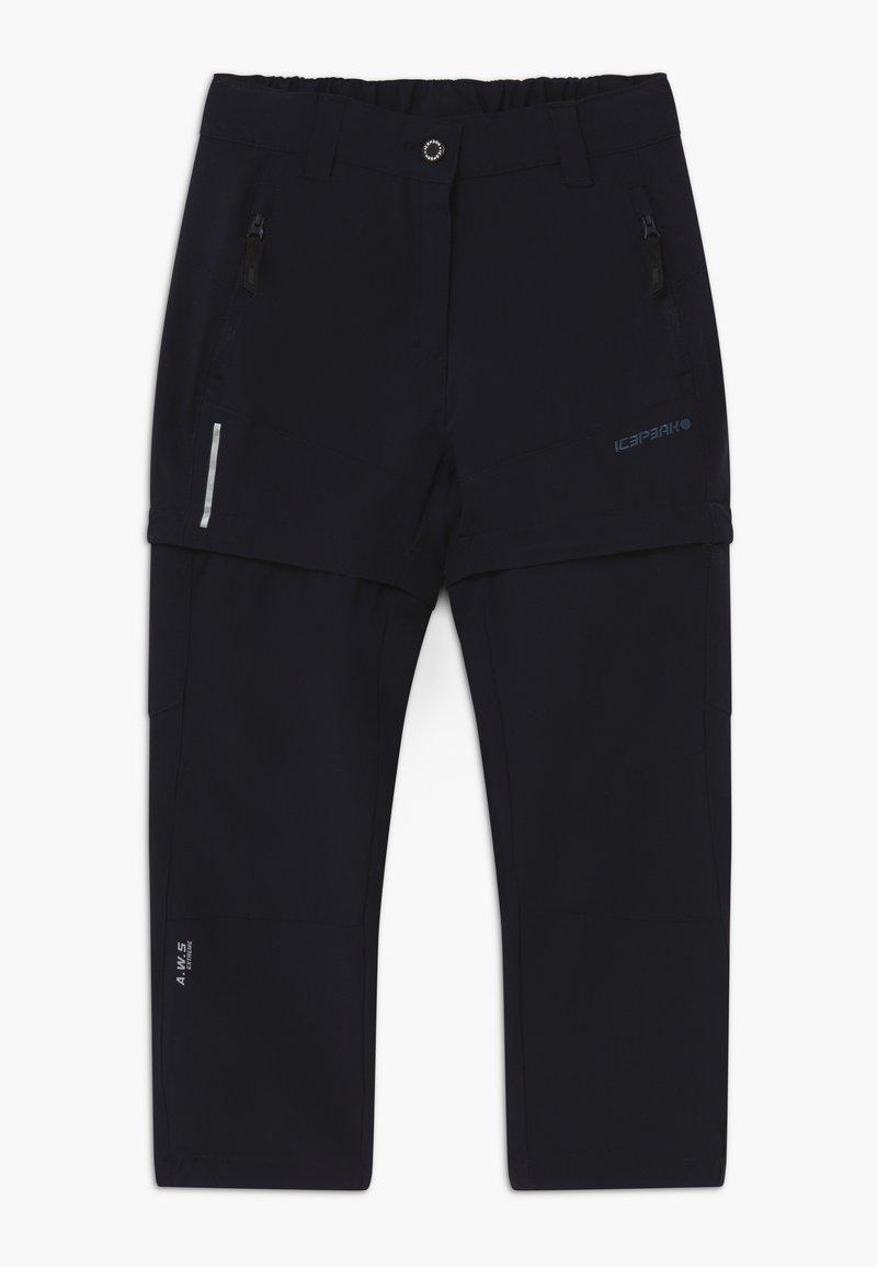 Icepeak - KANO 2-IN-1 - Outdoorové kalhoty - blue