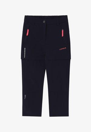 KANO 2-IN-1 - Outdoor trousers - dark blue