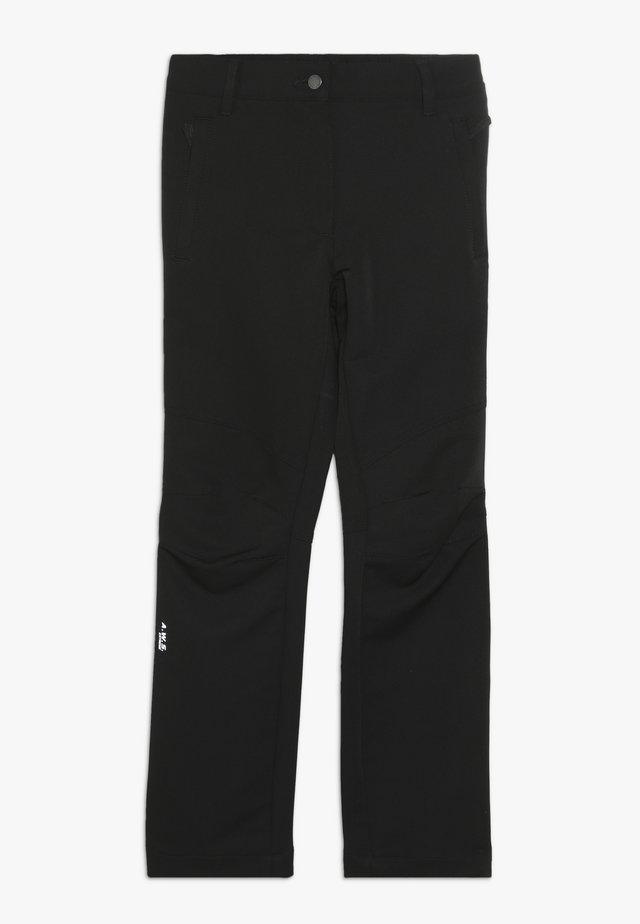 KALAR - Długie spodnie trekkingowe - black