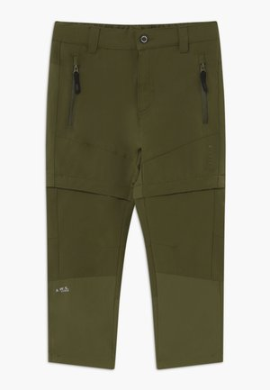 KAYES 2-IN-1 - Outdoorové kalhoty - dark olive