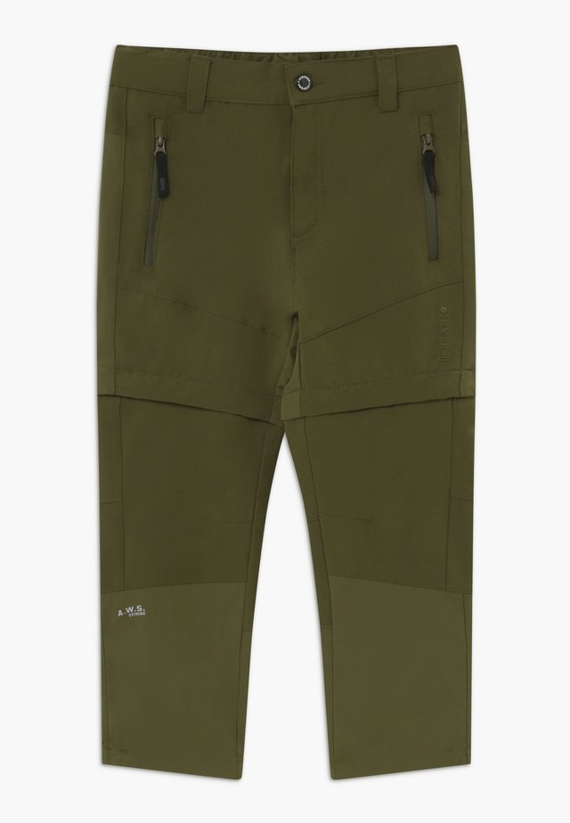 KAYES 2-IN-1 - Outdoor trousers - dark olive