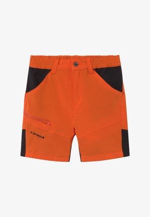 KOCHI - kurze Sporthose - burned orange