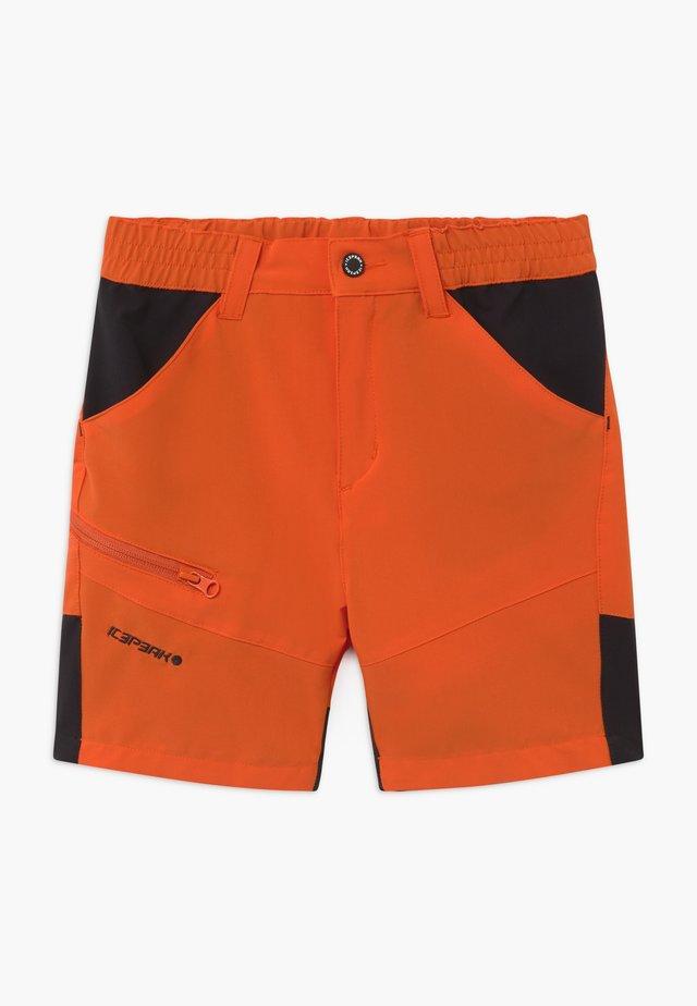 KOCHI - Krótkie spodenki sportowe - burned orange
