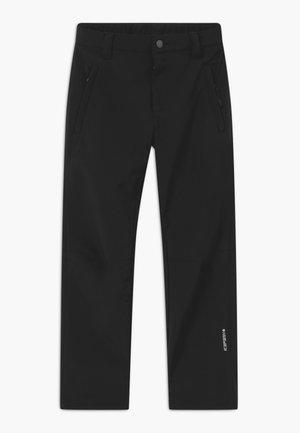KABWE - Outdoorové kalhoty - black