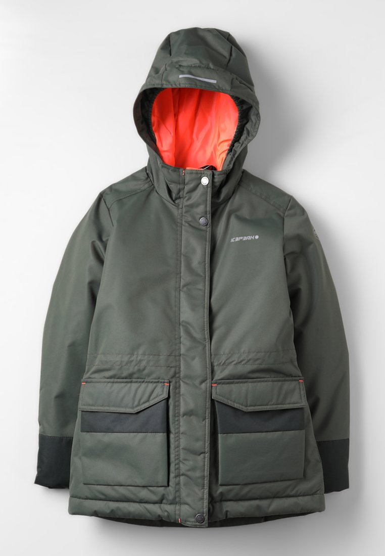 Icepeak - RORY - Regenjas - antique green