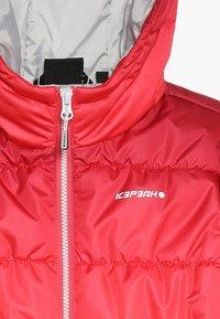 Icepeak - KIANA  - Zimní bunda - hot pink - 4