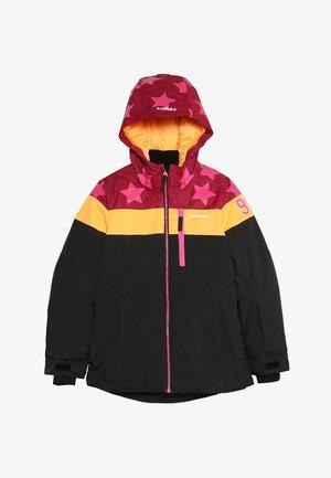 LANE  - Ski jacket - bordeaux/grey/orange
