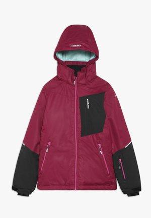 LEEDS  - Chaqueta de esquí - burgundy