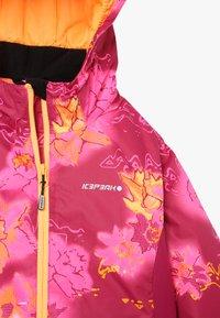 Icepeak - LINN - Lyžařská bunda - burgundy - 3