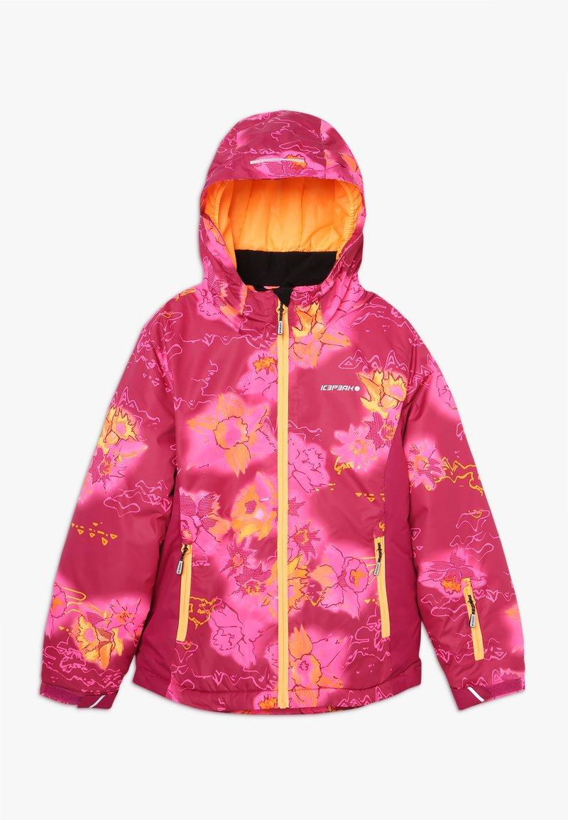 Icepeak - LINN - Lyžařská bunda - burgundy