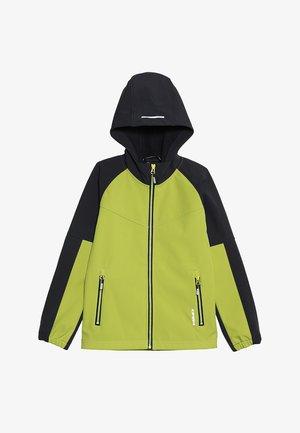 KINROSS - Soft shell jacket - light green