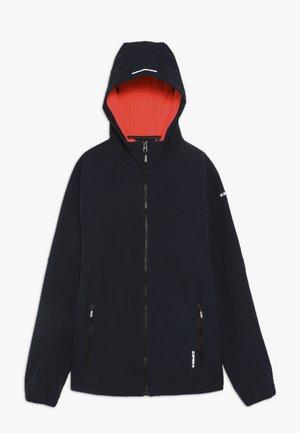 KINROSS - Softshellová bunda - black, royal blue
