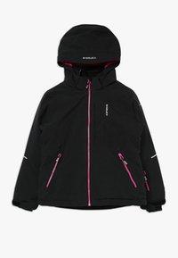 Icepeak - LEEDS - Lyžařská bunda - black melange - 0