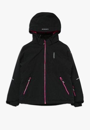 LEEDS - Ski jacket - black melange