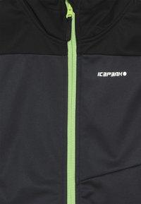 Icepeak - LAURENS - Softshellová bunda - grey - 4