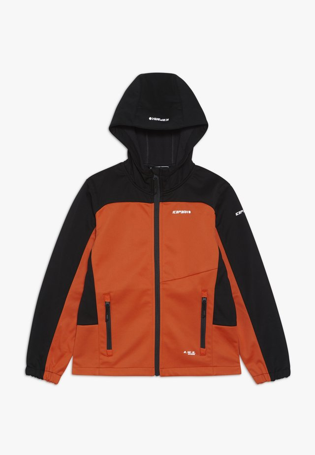 LAURENS - Softshelljacke - orange