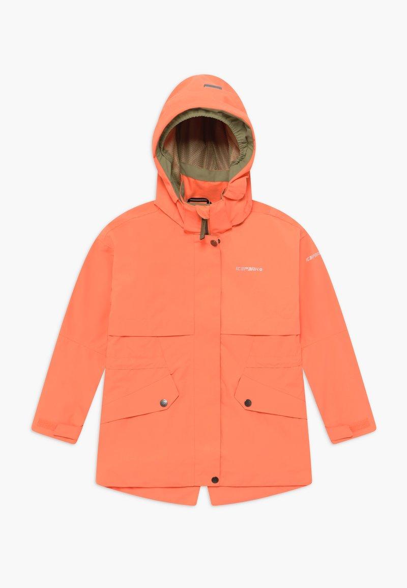 Icepeak - KINGSIEY - Hardshell jacket - abricot