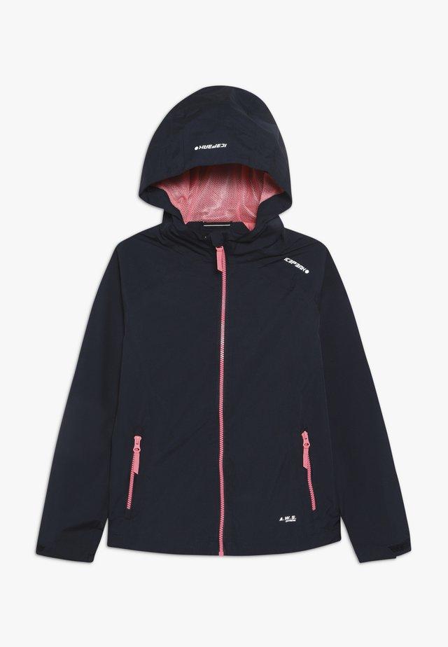 KENOVA - Vodotěsná bunda - dark blue