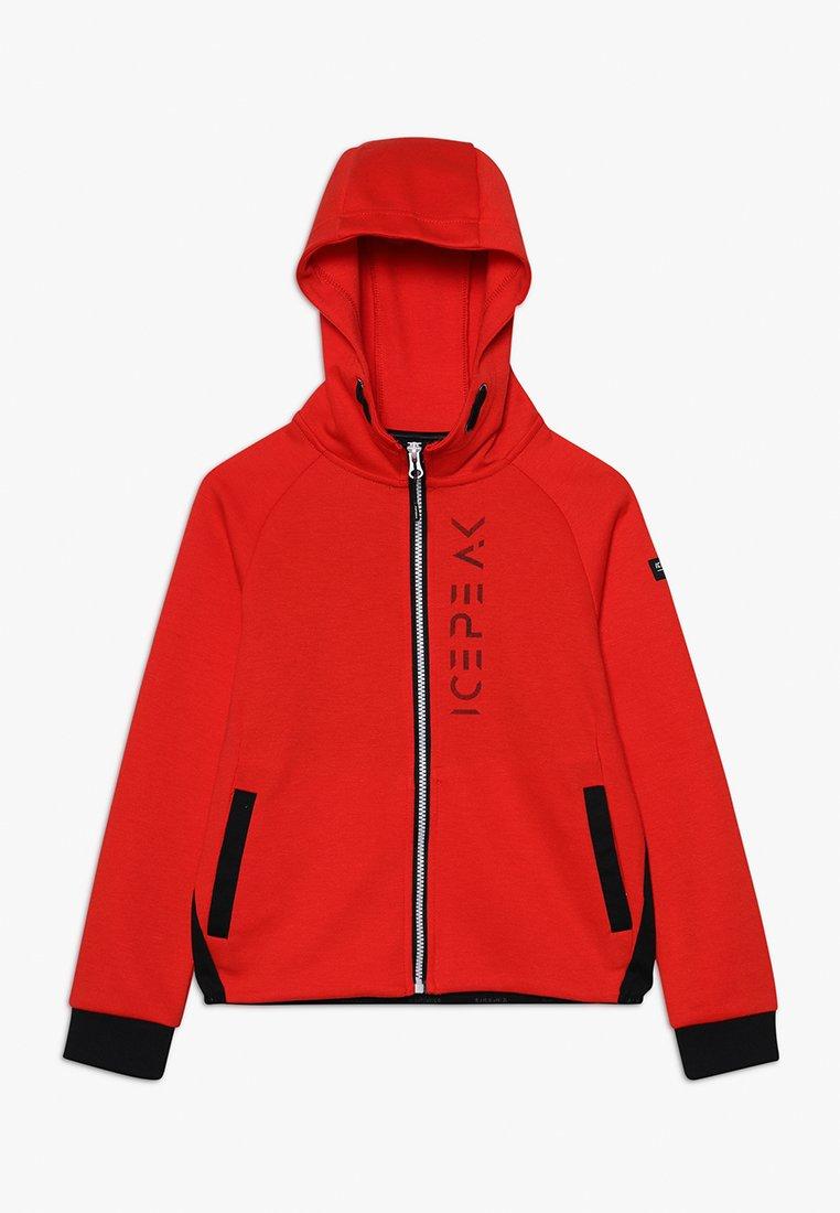 Icepeak - TALON  - Zip-up hoodie - klassisch rot