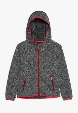 KUNA - Fleece jacket - lead grey