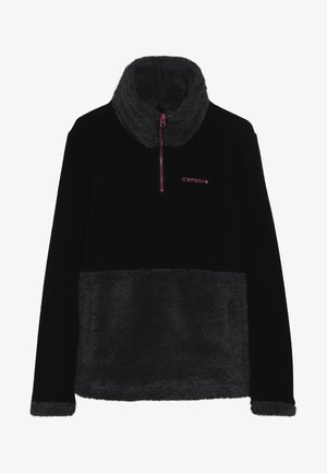 LINGEN - Fleece jumper - black