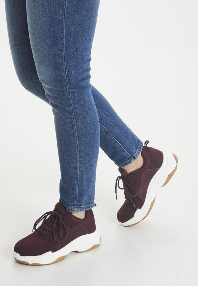 IALUNA  - Sneakers - bordeaux