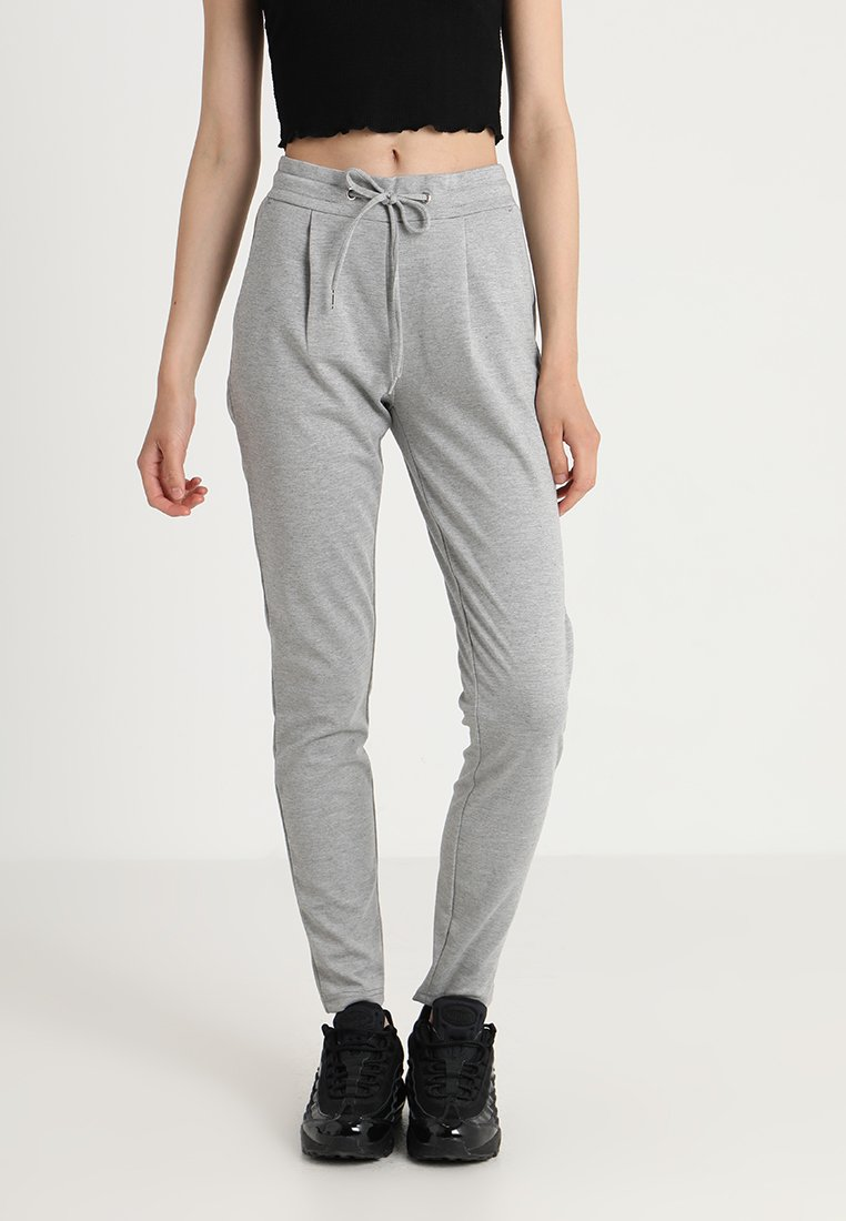 ICHI - KATE - Jogginghose - grey melange