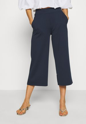 KATE CULOTTE  - Trousers - total eclipse