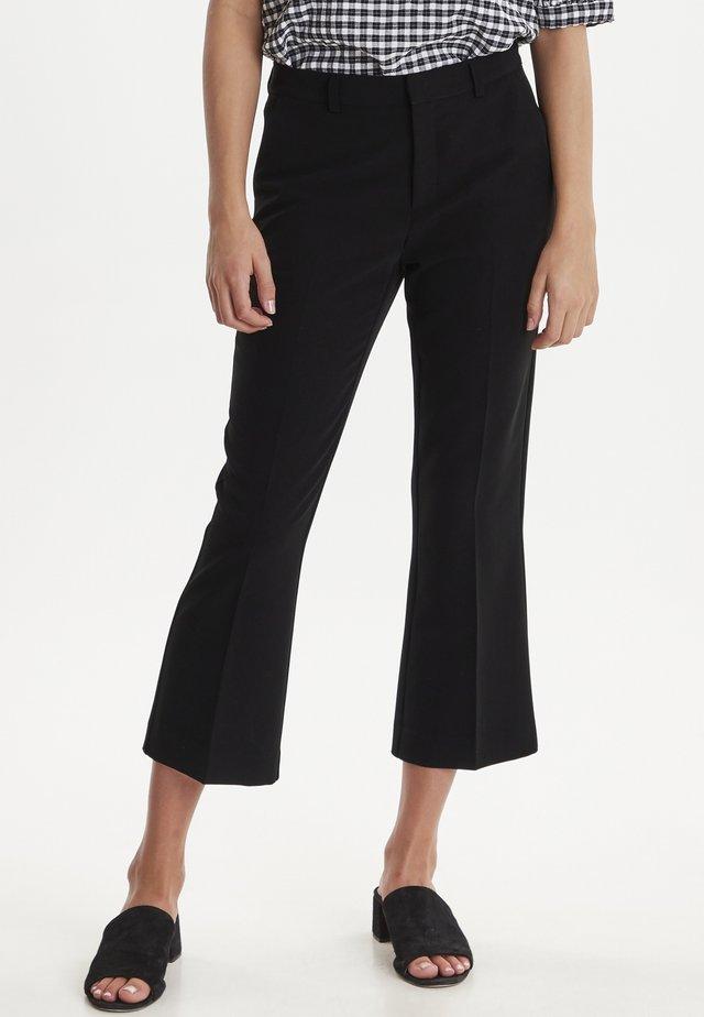 IXLEXI CROPPED - Pantalon classique - black