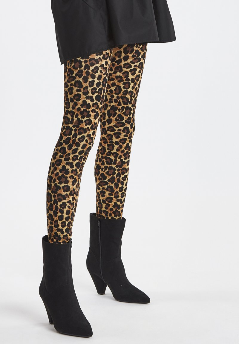 ICHI - IXSIFFI - Leggings - black