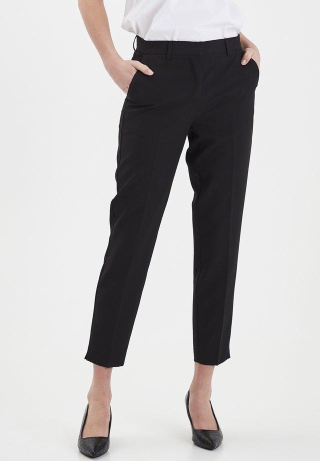 IXLEXI  - Spodnie materiałowe - black